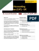 Certified Accounting Technician (CAT) - UK-QA
