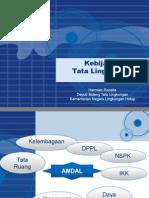 Rakernas AMDAL 2008 - Kebijakan Tata Lingkungan - Deputi 1