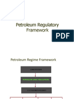 Petroleum Regulatory Frame Work