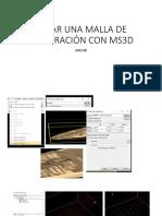 Crear Una Malla de ExploracionCon Ms3d
