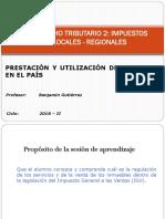 Prestación y Utilización de Servicios s IGV - DT II - UPLA