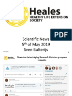 Scientific News 5th of May 2019
