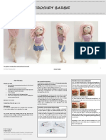 Barbie Doll and Cloths Pattern