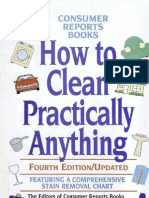 How to Clean Practically Anything-Mantesh