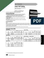 3M-14M Profilú Metrikus Osztású (Gumi) Folyóméteres Fogasszíj
