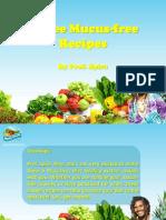 02. 5 Free Mucus-free Recipes_Mucusfreelife.com