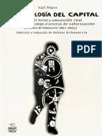 Karl Marx - La tecnología del capital.pdf