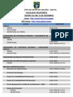 Catalogo Telefônico GAP GL