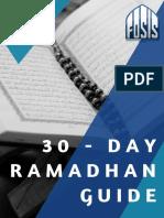 30 Day Ramadhan Guide