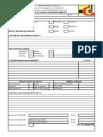 CIC-SAD-DRMS-003-00 - Orden de Trabajo Para Mantenimiento
