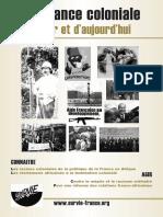 PDF Brochure Survie. La France Coloniale d'Hier Et d'Aujourd'hui