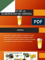 Proceso de La Elaboracion de Cerveza