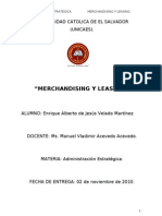 Merchandancig Vrs Leasing