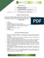 Manual de Funciones Adriatica Auxiliar de Ingenieria