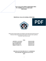 Proposal Mki Pt. Pg Candi Baru Sidoarjo