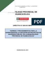 DIRECTIVA N° 009-2013 SUPERVISION DE PROYECTOS.docx