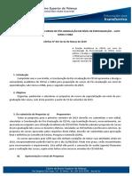 Edital Especialização 2019.2