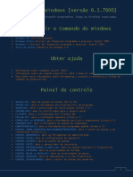 Comandos do windows CMD