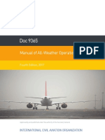 Doc 9365 - Manual of All-Weather Operations