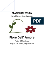 Flower Shop Feasibility Study