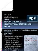 Placing Theory in Architectural Research and Design