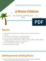 childcare presentation