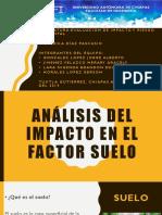 Análisis Del Impacto en El Factor Suelo