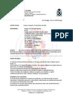 Acta Para Prevenir Matoneo 2019