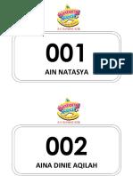 Borang Pertandingan Bintang Kecil Sksk 2015