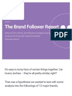 The Brand Follower Report | Brandwatch
