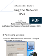 IPv4 Addressing