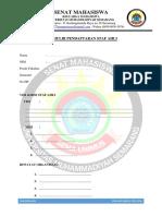 Formulir Pendaftaran Staf Ahli