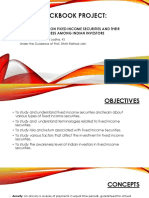 A STUDY ON FIXED INCOME SECURITIES AND THEIR AWARENESS AMONG INDIAN INVESTORS (PPT)