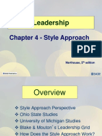 leadership approach