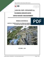Analisis Costos Tuberia Agua