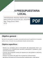 1.- Presupuesto Local 17042019