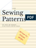 a complete guide to using commercial sewing patterns