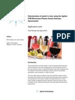5991-1586EN AppNote 4100MP-AES Food Wine