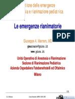 eBook Ita - Gestione Emergenze in Anestesia E Rianimazione Pediatrica