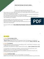 Cinco Razões Para Participar Na Ceia Do Senhor.doc