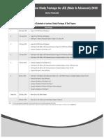 Dispatch Schedule C F for JEE (Main & Advanced) 2020 DLP.pdf