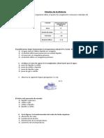 Evaluación Estados de La Materia