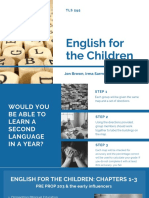 final tls 595-english for the children presentation