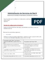 Administracion de Servicios Redes II