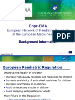 Enpr Ema European Network Paediatric Research European Medicines Agency Background Information En
