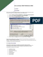 Configuration Dhcp Et DNS