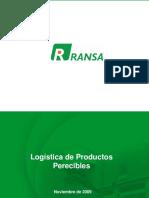 Logistica de Productos Perecibles