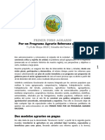 Documento Foro Agrario