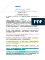 3 A) ACUERDO 2207-03 C.S.J.