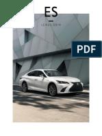 Lexus ES and ES Hybrid